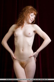angelic redhead with milky