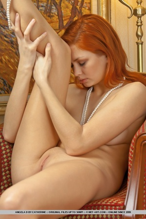 Charming redhead with smooth pale skin a - XXX Dessert - Picture 3
