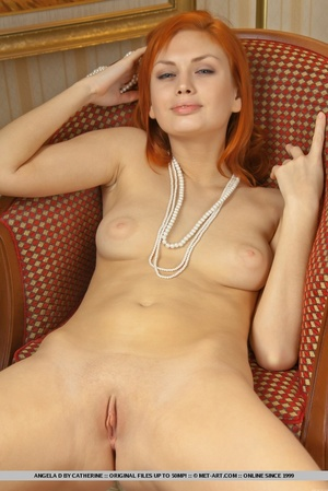 Charming redhead with smooth pale skin a - XXX Dessert - Picture 4
