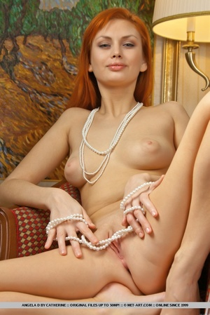 Charming redhead with smooth pale skin a - XXX Dessert - Picture 11
