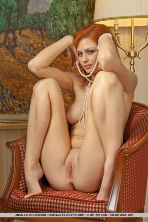 Charming redhead with smooth pale skin a - XXX Dessert - Picture 12