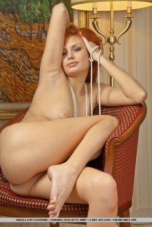 Charming redhead with smooth pale skin a - XXX Dessert - Picture 14