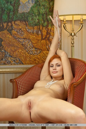 Charming redhead with smooth pale skin a - XXX Dessert - Picture 17