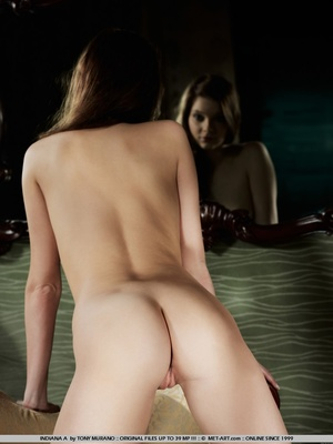 Sultry and sweet little model with tiny  - XXX Dessert - Picture 1
