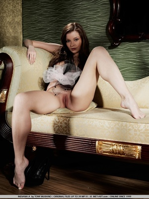 Sultry and sweet little model with tiny  - XXX Dessert - Picture 6