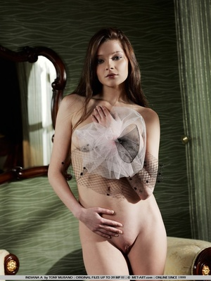Sultry and sweet little model with tiny  - XXX Dessert - Picture 14