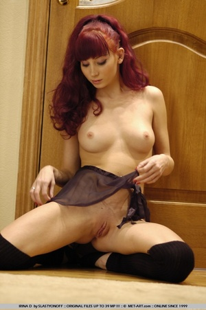 Daring and uninhibited redhead in erotic - XXX Dessert - Picture 17