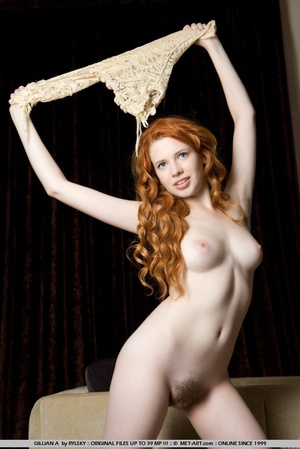 Uninhibited and refined redhead with pal - XXX Dessert - Picture 15