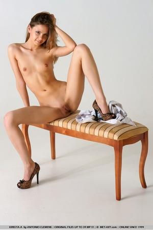 Tags: Bottomless, great legs, high heels - XXX Dessert - Picture 9