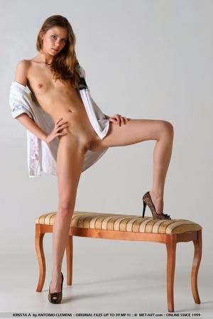 Tags: Bottomless, great legs, high heels - XXX Dessert - Picture 18