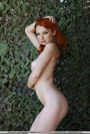 Tags: Outdoors, pale skin, redhead. - XXX Dessert - Picture 8