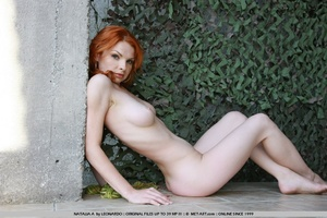Tags: Outdoors, pale skin, redhead. - XXX Dessert - Picture 9