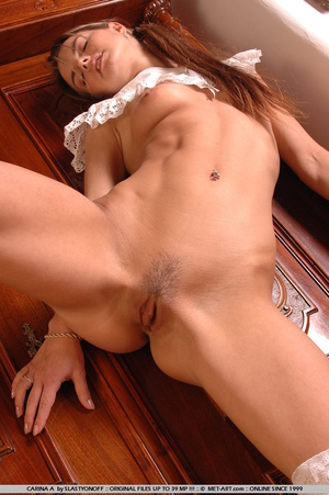 Carina is all pretty girl, with pig tail - XXX Dessert - Picture 1