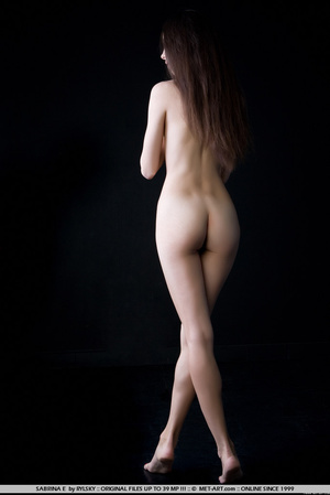 Natures beauty Sabrina has long brown ha - XXX Dessert - Picture 13