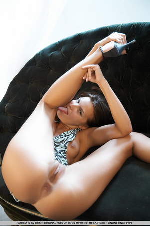 High end women on an expensive couch get - XXX Dessert - Picture 9