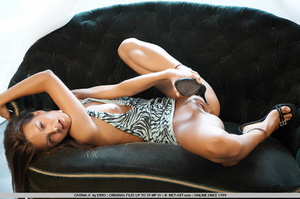 High end women on an expensive couch get - XXX Dessert - Picture 15