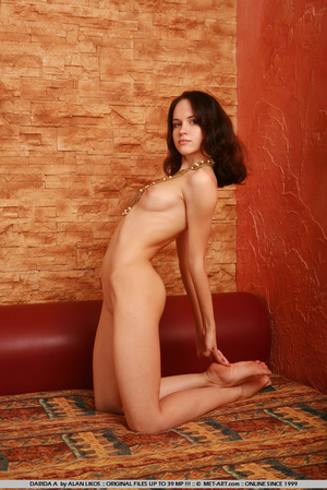 Flexible princess with thick brown hair  - XXX Dessert - Picture 13