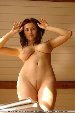 Large breasted Iga gets undressed reveal - XXX Dessert - Picture 1