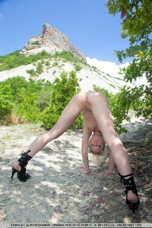 Tags: High heels, outdoors, puffy nipple - XXX Dessert - Picture 2