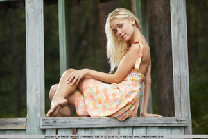 Natural blonde innocent girl Aljena is o - XXX Dessert - Picture 19