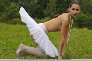 Ballerina with a cute tutu goes out on t - XXX Dessert - Picture 11