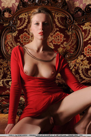 Tags: Big lips, dress, long legs, red, r - XXX Dessert - Picture 7