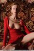 Tags: Big lips, dress, long legs, red, red dress, small labia, upskirt.
