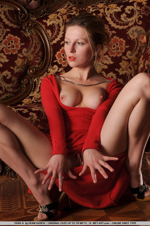 Tags: Big lips, dress, long legs, red, r - XXX Dessert - Picture 9