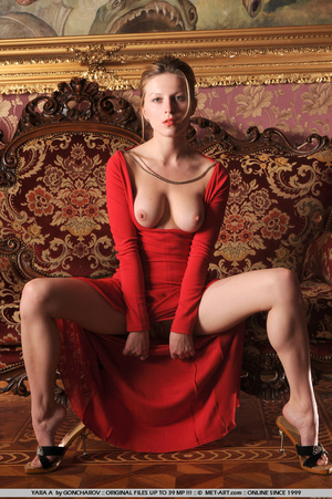 Tags: Big lips, dress, long legs, red, r - XXX Dessert - Picture 10