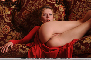 Tags: Big lips, dress, long legs, red, r - XXX Dessert - Picture 15