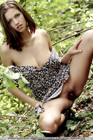 Tall model with short brunette hair goes - XXX Dessert - Picture 12