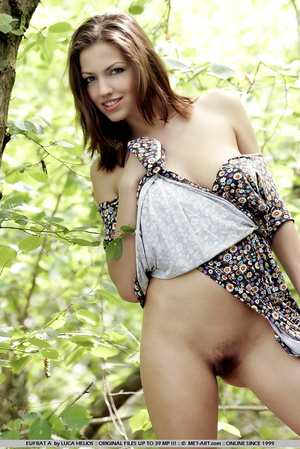 Tall model with short brunette hair goes - XXX Dessert - Picture 13