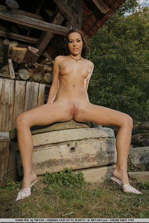 Young and curvy brown haired model with  - XXX Dessert - Picture 10