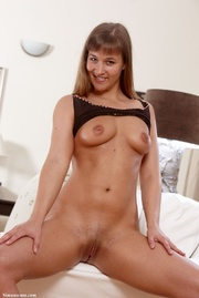 misty with dildo making