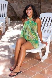 isha her green sarong