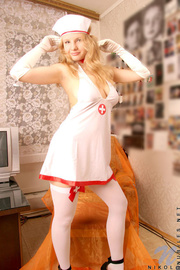 seductive teen nurse couch