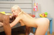 blonde slut fucked and