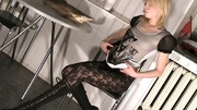 horny nubile plays with