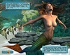 "Sexy perfect tits 3d mermaid wants to know everything about ""third leg"""