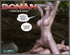 White haired 3d els girl geys her face cum covered after giving head to