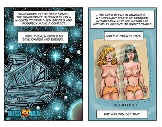 slutty spaceship toon girls