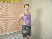 ebony schlong stretches teen's