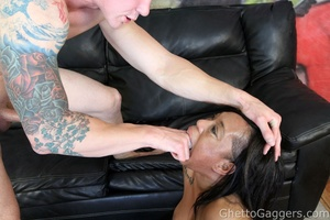 He drilled her big ghetto booty and her  - XXX Dessert - Picture 5