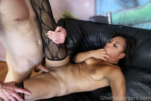 He drilled her big ghetto booty and her  - XXX Dessert - Picture 13