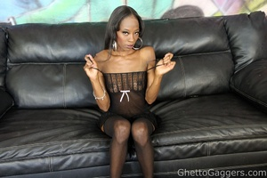 Dariel Dukes got slapped around and fuck - XXX Dessert - Picture 1