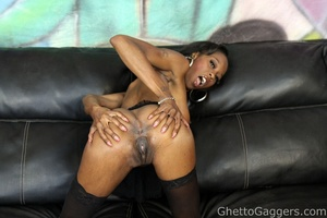 Dariel Dukes got slapped around and fuck - XXX Dessert - Picture 3