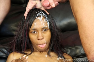 Face fucked until her wig fell off - XXX Dessert - Picture 14
