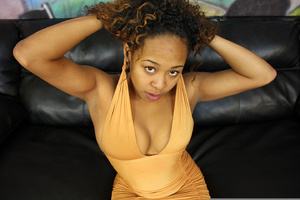 19 year old ebony whore Brooklyn Carter - XXX Dessert - Picture 1