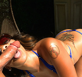 We have the beautiful and the ever so lovely Luscious Melrose Foxx and