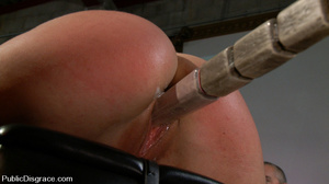 Roped busty slave girl gets all her hole - XXX Dessert - Picture 7